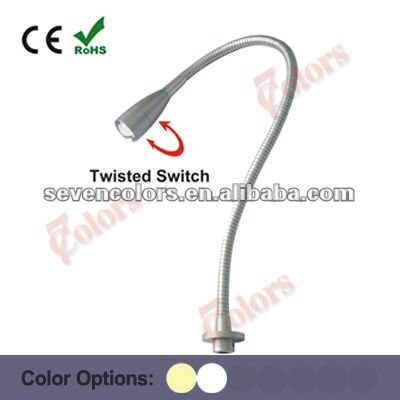 1w Flexible Led Bed Lamp Reading Light Study Sc E101a