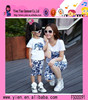 2015 High Quality Mother And Daughter Sport Suit Boutique Store Hot Sale Cheaper Summer Family Clothing