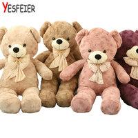 60/80cm Plush toys teddy bear stuffed animal doll baby toys big embrace bear doll lovers christmas gifts birthday gift