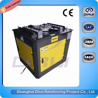 CE 1420 R/min ATM manual steel bending machine/flat bar bending machine