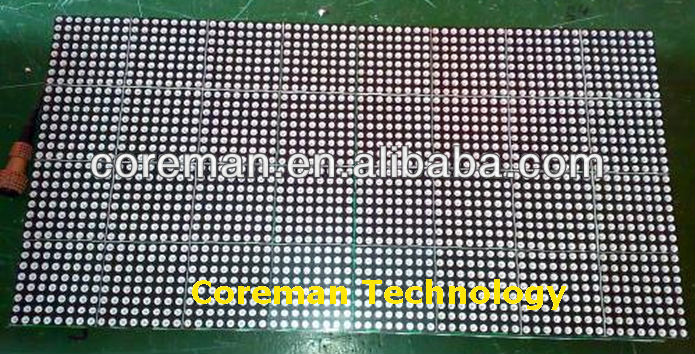 indoor single color led module p4 p4.75 p7.62 p10 aluminium frame,cabinets