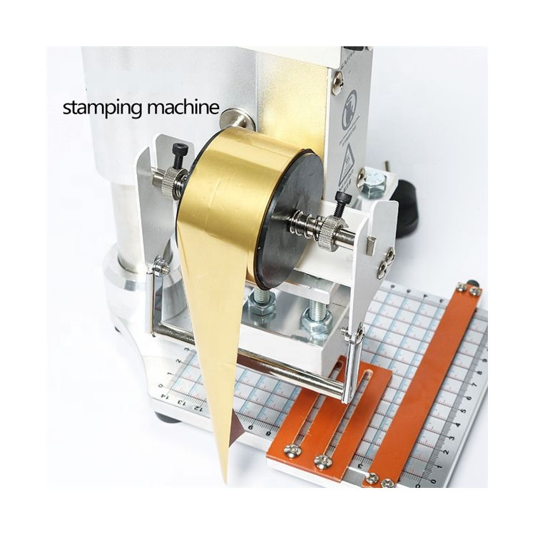 Heat Press Label Hot Foil Stamping And Embossing Machine For Sale