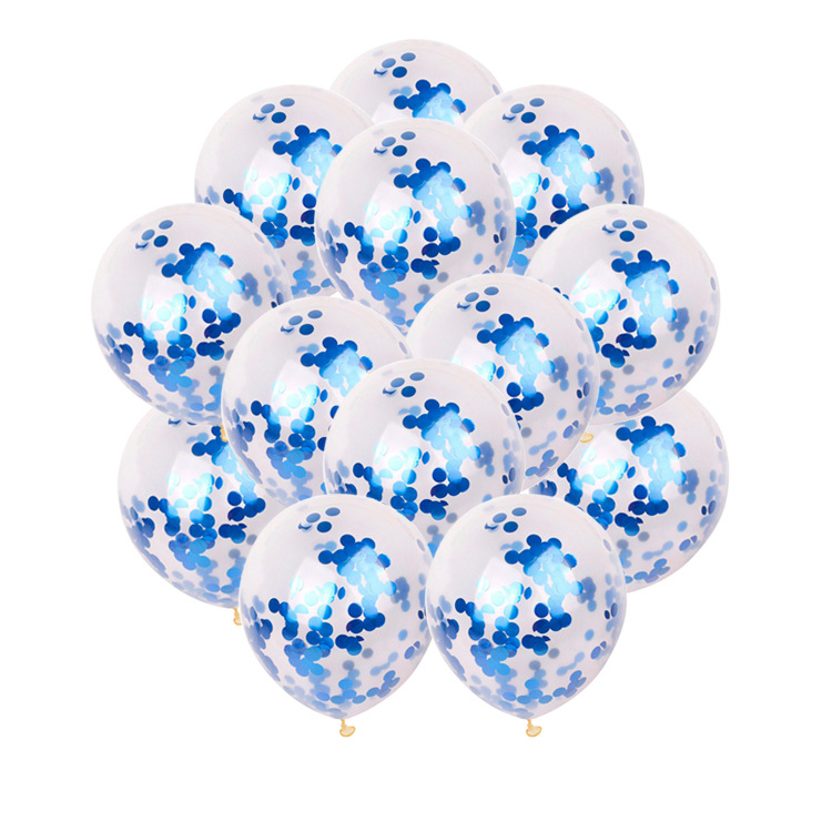 12 Inch New Amazon Supply Hot Sale Multicolor Confetti Latex Balloons Party Balloons