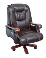 Guangzhou wholesale furniture italian leather executive chair for boss/president(FOH-B14003)