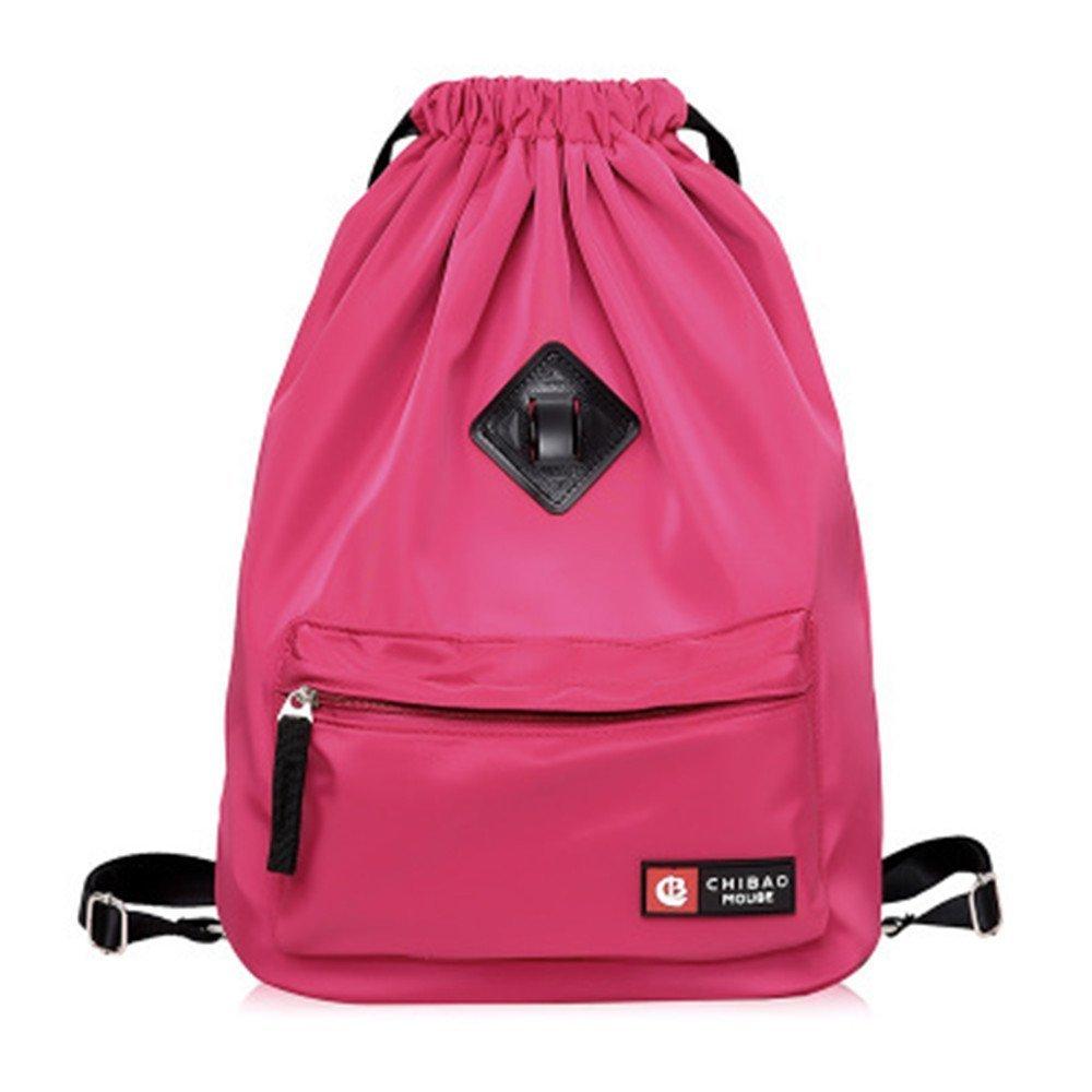 Kangkang @ Easy draw string bag travel backpack waterproof nylon female portable backpack pocket beam sundry receive bag bag bag