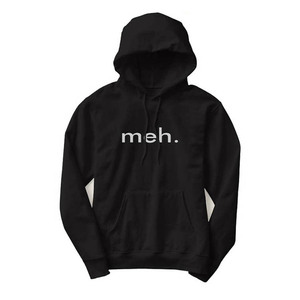 Custom Fashion Black Dry Fit Men Pullover Hoodie With Printing Logo