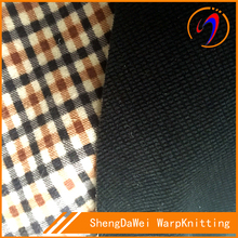 new designs mens garment fabric in 100% polyester fabric
