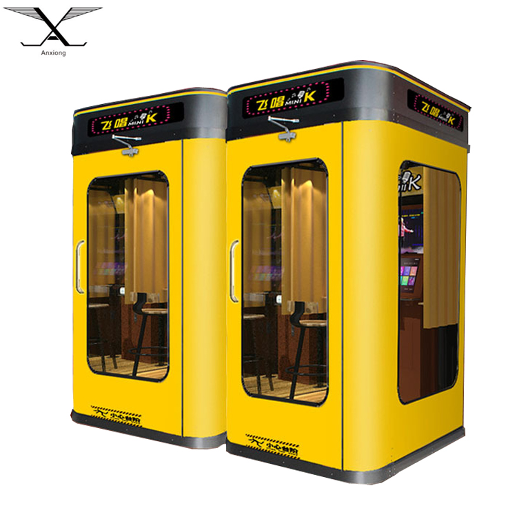 2018 New Arrival Mini Karaoke Booth Room For Self Help Karaoke Jukebox -  Buy Mini Karaoke Booth,Karaoke Jukebox,Coin Operated Game Machine Product  on