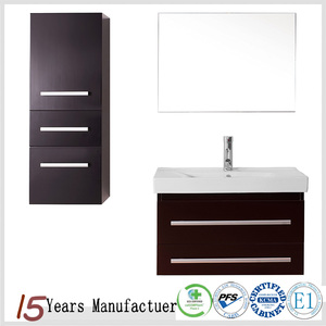 Modern Wholesale L Shaped Bathroom Vanity