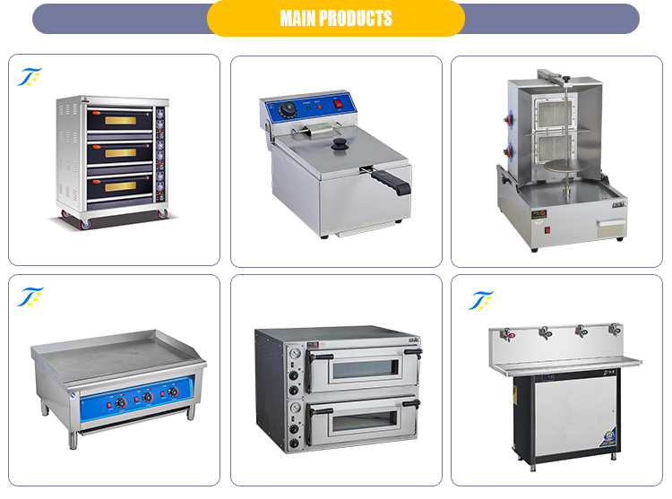 Italian Style Industrial Digital Countertop Convection Oven For Super Chef