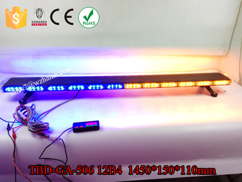 Amber led emergency light bar blue led warning strobe light amber led emergency light bar blue led warning strobe light security car flashing lightbar aloadofball Image collections
