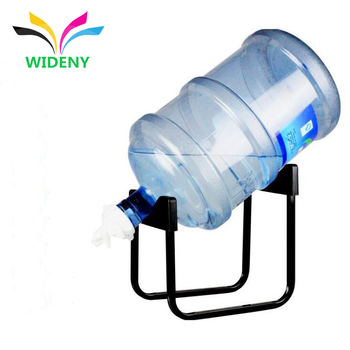 Sturdy Stacking Functional 4 Tiers Foldable White 5 Gallon Water Bottle  Storage Rack