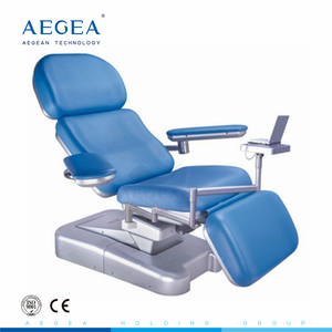 AG-XD101 adjustable hospital electric lifting blood collection chair with 3 motors