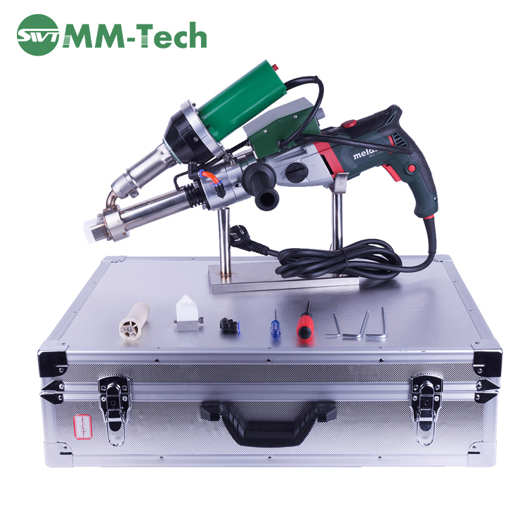 SWT-NS600A Hand Held Plastic Extrusion Welding Machine , plastic welding hand extruder