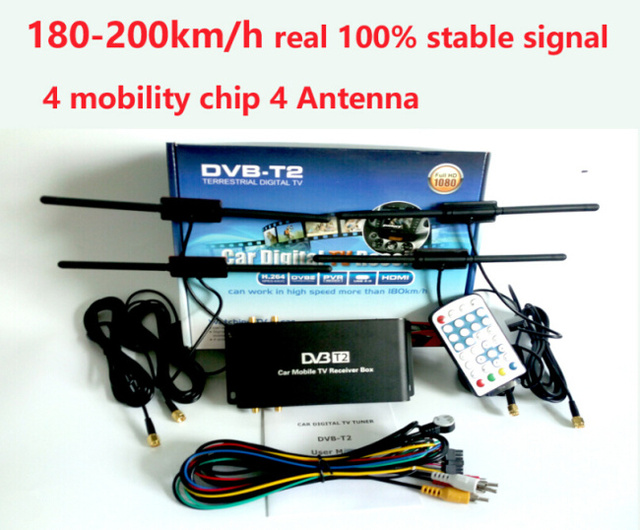 180 200km h dvb t2 car 4 antenna dvb t2 car 4 mobility. Black Bedroom Furniture Sets. Home Design Ideas