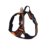 Pet dog harness, Big dog harness, 3M Highlight Large pet dog chest harness with metal buckle