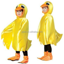 Rubber ducky yellow bird delux kids duck costume