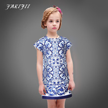 Girls Dresses Summer 2016 Brand Baby Girl Clothes family clothes Kid Dresses for Girls Princess Dress