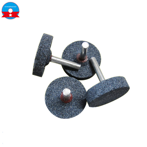 6mm shank Ceramic bond Fused abrasive mounted head stone