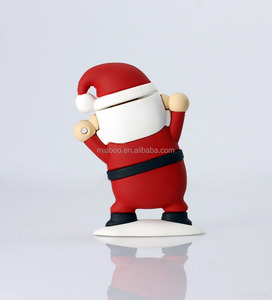 Cute cartoon Santa Claus custom usb memory stick, new electronic gadget custom usb 3.0, hot promotion gift custom usb pen