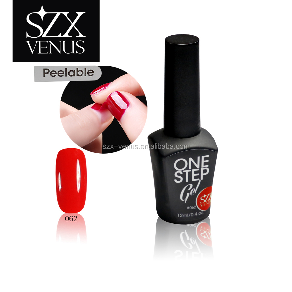 Szxvenus Color One Step Peelable Gel Polish Professional Easy Move ...