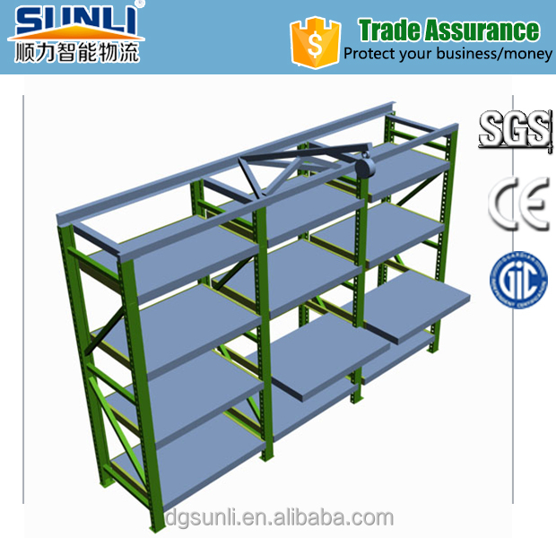1T Pull-out Drawer Storage Mould Rack Manufacturer