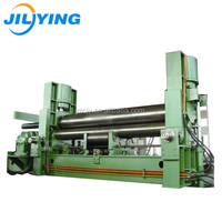 Roller rolling machine steel plate bending machine forming equipment to Chile