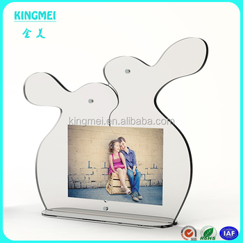 Acrylic Hanging Photo Cube Frame Magnetic Frames Block Buy Acrylic
