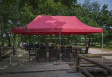 3x6 m rode patio zonnescherm voor resort <span class=keywords><strong>restaurant</strong></span> grote outdoor party <span class=keywords><strong>tent</strong></span>