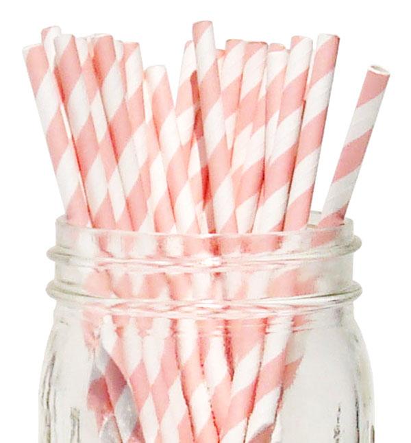 Olantai 100 Pcs Per Tas BPA Free Minum Makanan Kelas Kertas Jerami
