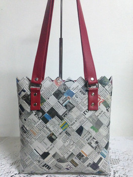 Handmade Bags Made From Recycled Paper