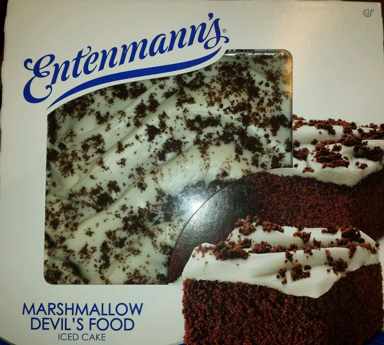 Entenmanns Iced Cakes BONUS 1 Crumb Cake Individually Wrapped Marshmallow