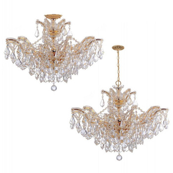 American Class Small Style Marie Theresa Glass Ceiling Light With Pendant For Church/Living
