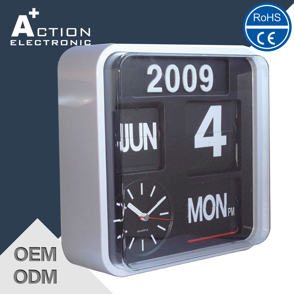 Wall flip clock with day date buy day date wall clockwall flip wall flip clock with day date amipublicfo Choice Image
