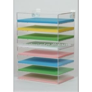 Acrylic A4 Coloured Paper Dispenser C1007453