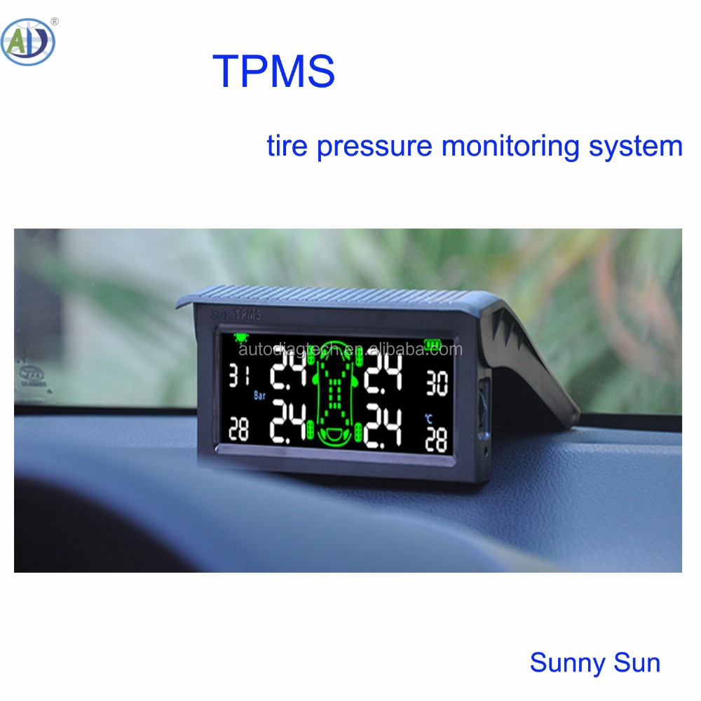 Hot OEM Zonne-energie TPMS BANDENSPANNINGSCONTROLESYSTEEM