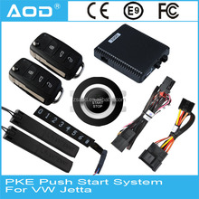 High quality keyless entry system DC 12V voltage for Volkswagen Jetta 2013 high equipped