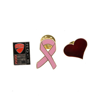 Souvenir Heart Shape Cheap Badge Button/novelty Pin Badge/metal Lapel Pin For Sale