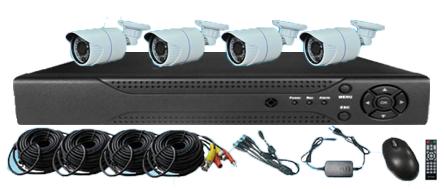 Top Sale Hd Ahd Cctv Camera Security System 4chs Hd Ahd Kits Cctv ...