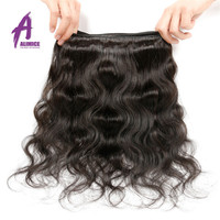 Peruvian Raw hair Full and Intact Cuticle Bundle hair, Factory price Body wave Single donor Virgin Human hair extension