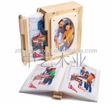 FSC and SA8000 certificated wooden photo album
