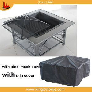 bbq brazier outdoor table fire pit/desktop oven
