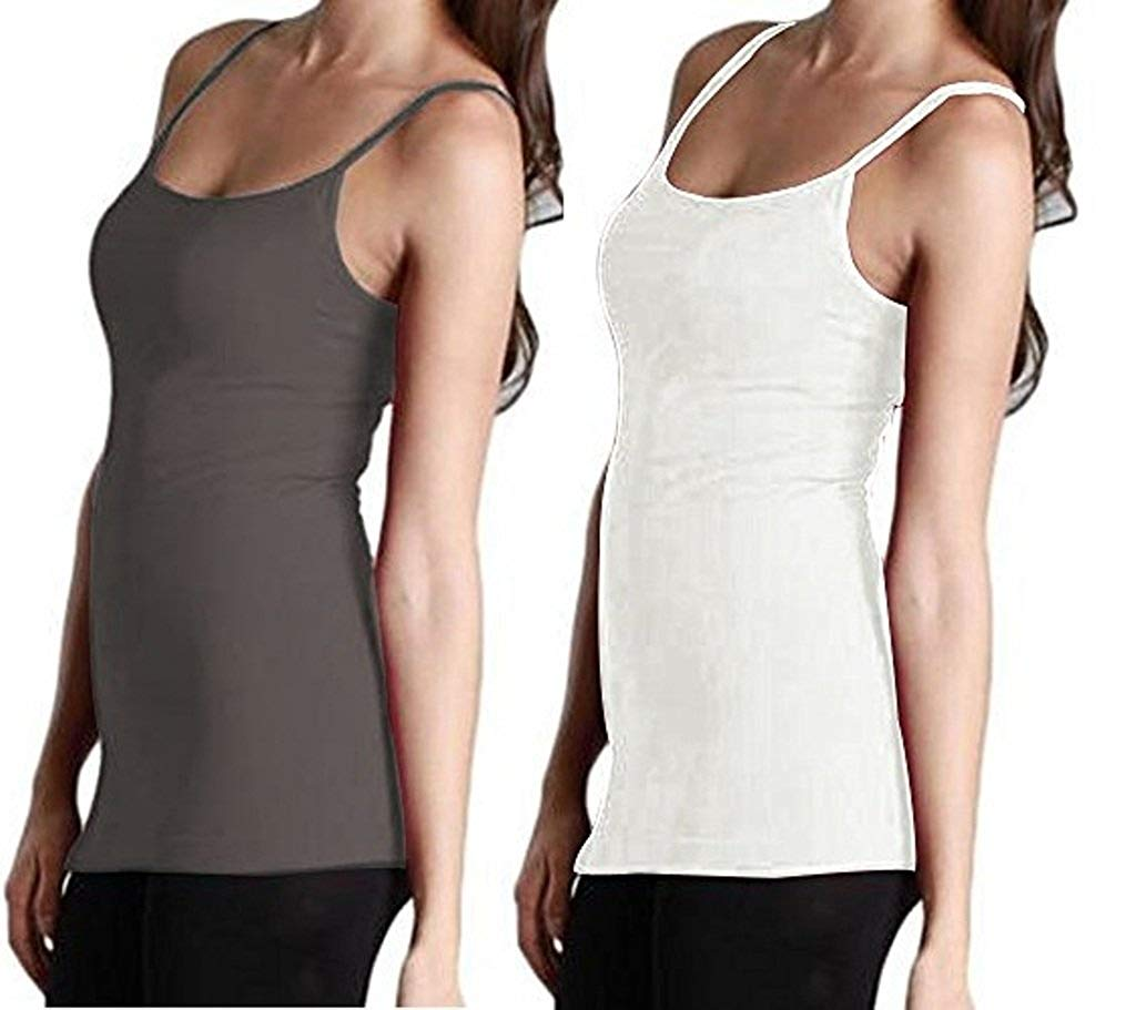 13eaef971fa81 Get Quotations · MOPAS J.Ann Ladies Solid Camisole (25