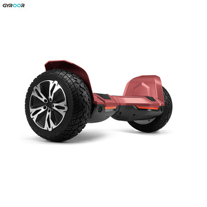 "Gyroor off road 8.5"" hoverboard two wheel balancing scooter with private patent protection"