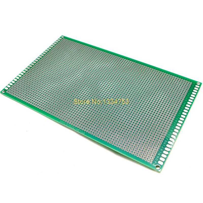 High quality 9 * 15CM 1.6 2.0 thick pitch-purpose spray tin universal board breadboard circuit board hole
