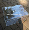 Best selling elegant decorative clear acrylic nike box for sneaker