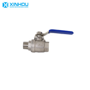 "1/2"" 2 inch 304 stainless steel 1000 wog ball valve"