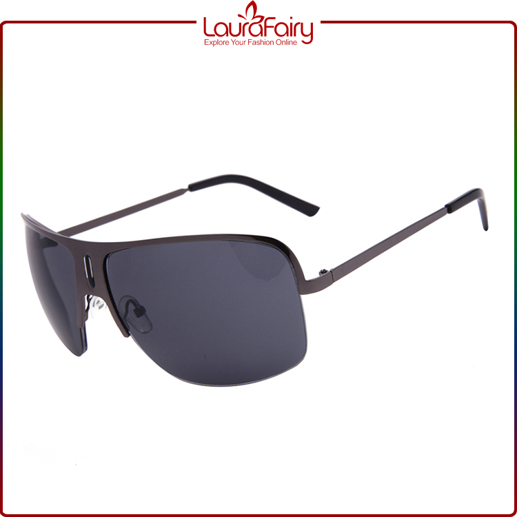 Laura Fairy Brand High Quality Grey Lens Metal Sunglasses 2016 Gafas De Sol Hombre