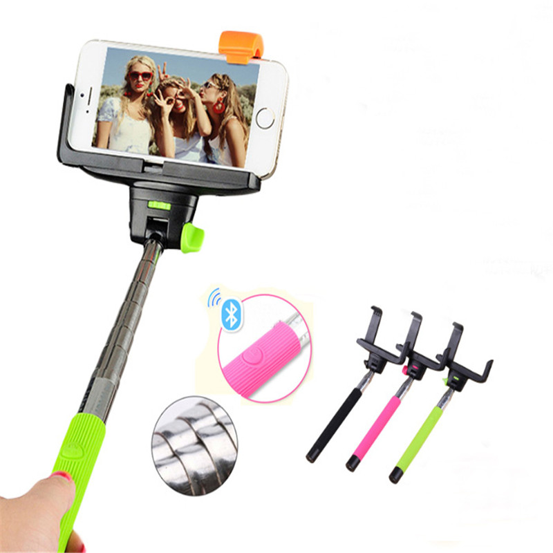 shenzhen lowest price monopod Wireless Bluetooth Selfie stick and other phone acessories