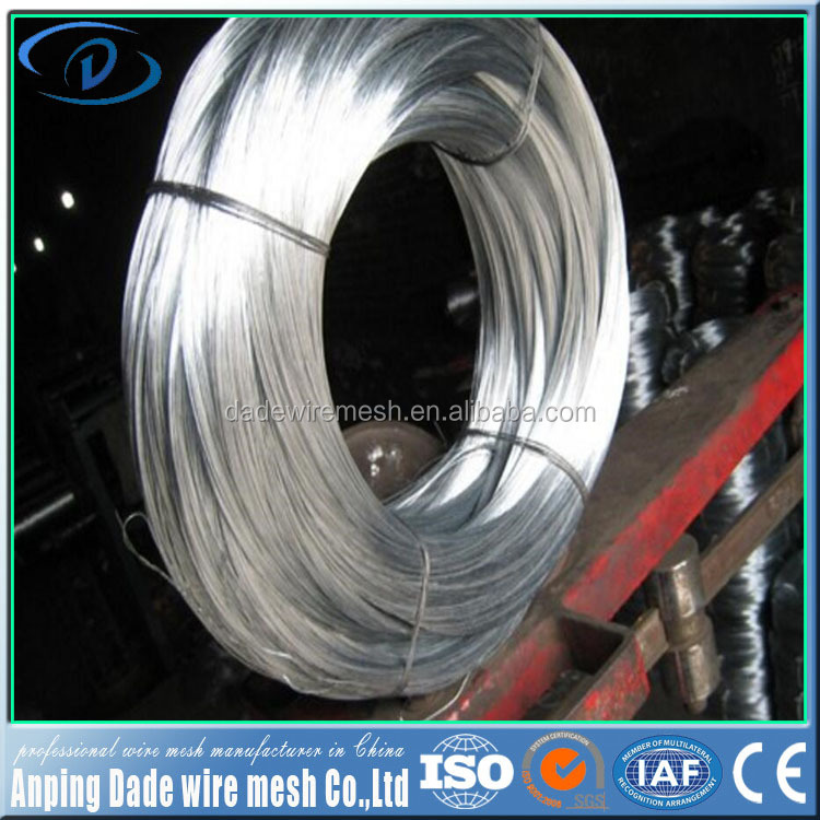 Hot sale Galvanized wire best manufacturer 99.995% pure zinc wire
